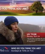 """Who Do You Think You Are?"" mit Liv Tyler am 24. April 2017"